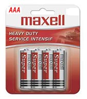 BT2400-4 AAA Regular Battery-4 Pack