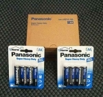 "PANAA4 PANASONIC 4 PACK ""AA"" HEAVY DUTY BATTERIES"